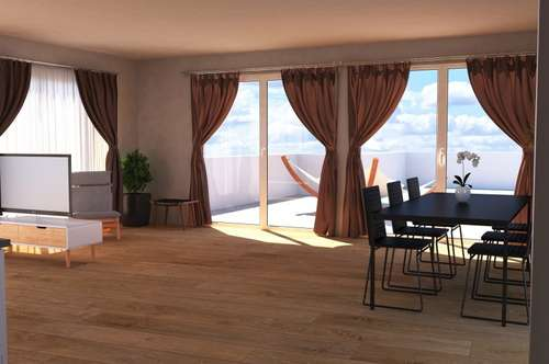 Exclusives Penthouse in TOP Lage unmittelbar am Skilift in Fügen