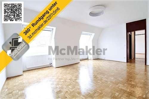 Gut geschnittene und lichtdurchflutete 2-Zimmer-Dachgeschosswohnung in Wien!
