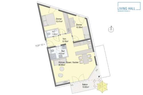 Charmanter Neubau in Hall - Verkaufsstart