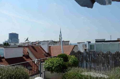 Mondäne Dachwohnung über den Dächern der Leopoldstadt nahe 1. Bezirk