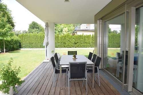 NÄHE ALTSTADT: Exklusive 4-Zimmer-Garten-Wohnung, 3 Jahre befristet