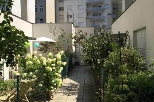 WOHLFÜHLKOMFORT: 3-Zimmer mit Garten in absoluter Hofruhelage