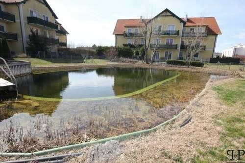 Eigentumswohnung mit Schwimmteich