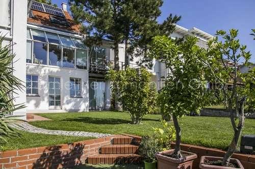3546 - Panoramablick aus extravagantem Einfamilienhaus