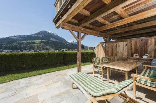 Schöne Gartenwohnung mit traumhaftem Blick in Kirchberg