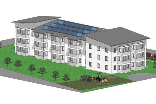 Geförderte Mietwohnung in Rüstorf (83 m²)