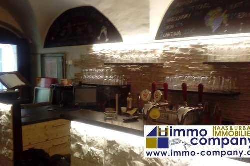 Innere Stadt: Schönes Gastronomielokal mit Pächterwohnung!!! Beste Lage!!!
