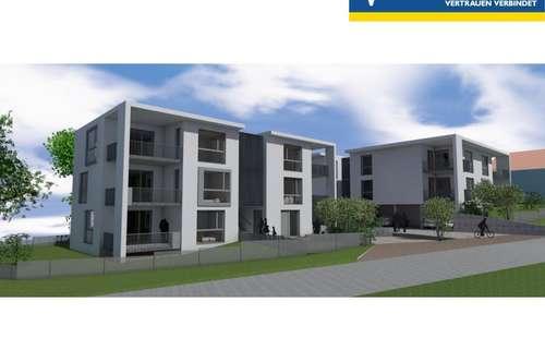 Bauprojekt im sonnigen Steinbrunn Neue Siedlung - Liegenschaft für 13 Wohneinheiten