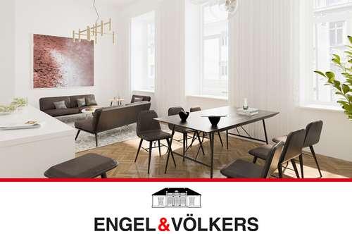 Erstbezug: Modernes Wohnen im Gründerzeitstil