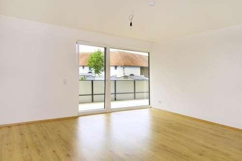 ERSTBEZUG - 66 m² Wohnung mit Tischler - Küche, großem Balkon und TG-Platz!