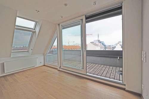 moderne 4-Zimmer-DG-Wohnung mit Terrasse