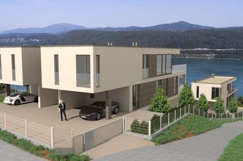 AUEN VILLEN am Wörthersee: Exklusive Chalets mit Wohneinheiten ab ca. 74 m² bis ca. 180 m² mit eigenem Seezugang