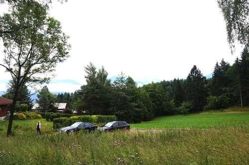 Schönes Baugrundstück bei Ludmannsdorf