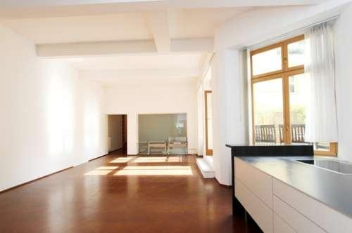 Myrthengasse - Künstlerviertel. Loftwohnung in Hofruhelage, EG