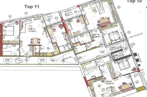 Neubau Mietwohnungen mit Loggia in Garsten