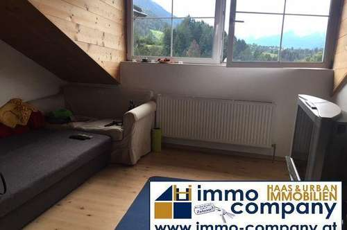 Ranggen – Ruhelage mit Gebirgsblick: Gepflegte 2-Zimmerwohnung, 55 m² Wfl, Parkplatz, Sofortbezug