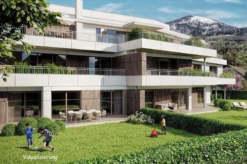 NEUBAUPROJEKT IN AIGEN: Anspruchsvolle Gartenwohnung in absoluter Toplage!