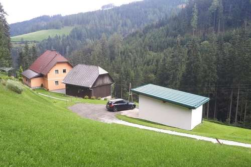 Idyllisches Haus eingebettet in die Natur ist zu haben