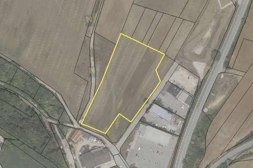 Gewerbegrundstücke (Betriebsgebiet) im Gemeindegebiet 2191 Gaweinstal Autobahn A5