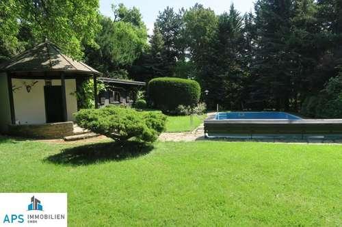 Wiener Vorstadtvilla - absolute Bestlage - Traumgarten - Pool