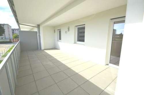 WOHLFÜHLEN IN DER VORSTADT! Gut aufgeteilte 4-Zimmer-Wohnun mit großer uneinsehbarer Terrasse!!!!!