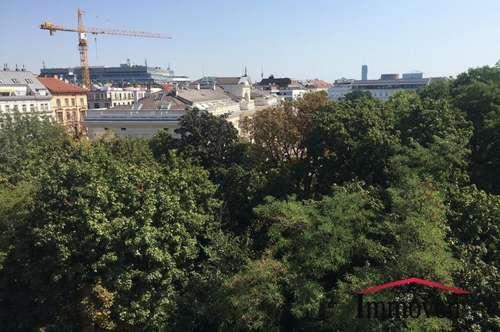 Blick ins Grüne und das mitten in Wien - Traumhafte Dachgeschosswohnung in Alsergrund
