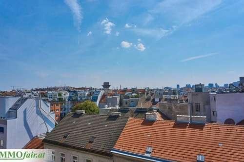 WEITBLICK - Erstklassige Dachgeschosswohnung mit 3 Zimmern + Terrasse und Dachterrasse ( 2. DG - Top 42 - 74,08m² + 8,08 Terrasse + 33,82 Dachterrasse € Netto € 489.594,)