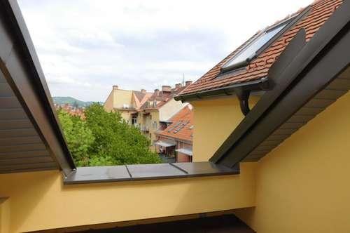 St.Leonhard (Kunst-Uni): schön sanierte Dachterrassen-Wohnung mit 2 Schlafzimmern