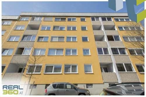 Möblierte 2-Zimmer Wohnung mit Loggia in zentraler Lage ab sofort zu mieten!