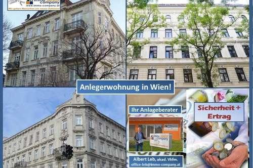 Ertragreiche Anlegerwohnung in Wien Leopoldstadt!