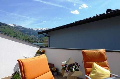 Touristisch nutzbare Maisonette-Wohnung mit Seeblick in Zell am See