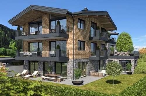 KITZBÜHEL: Exklusives Townhouse mit Lift, Terrassen, Sauna - Nähe Schwarzsee