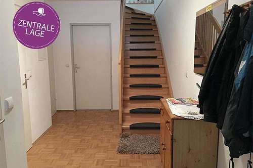 Maisonettenwohnung mit 2 Schlafzimmer und Balkon in Zentrumsnähe ...!