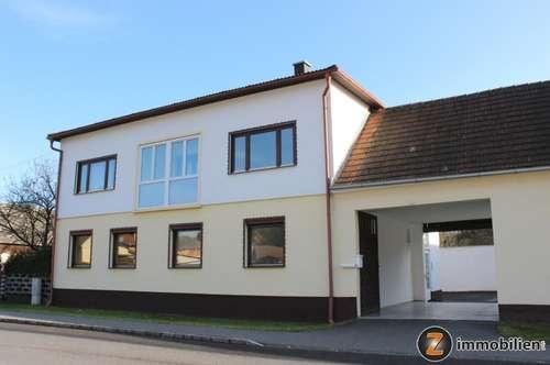 Nähe Oberwart: Zweifamilienhaus mit Wirtschaftsgebäude