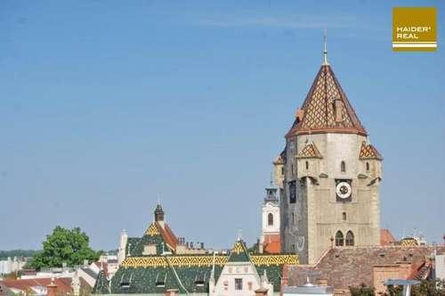 Traumhafte Dachgeschosswohnung in Bestlage von Korneuburg
