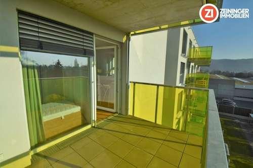 Moderne 2 ZI-Wohnung - zentrale Lage - Balkon u. Küche