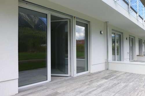 Erstbezug: Gartenwohnung mit Terrasse und TG-Platz