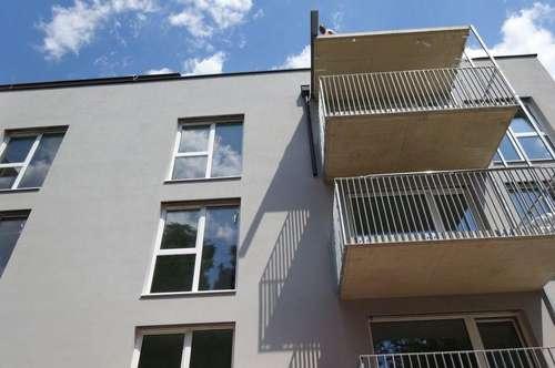 Erstbezug - Wunderschöne 2-Zimmer-Neubauwohnung mit Balkon in sehr guter und zentraler Lage