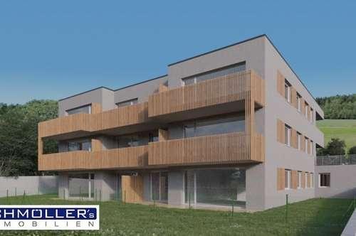3-Zimmer-Terrassen-Wohnung mit Weitblick in Steinhaus bei Wels