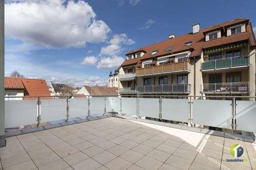 Terrassenwohnung in zentraler Lage