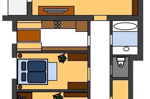 Wohnung 96 qm inkl Balkon westseitig