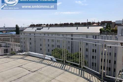 Großzügige Terrassen - Dachgeschoßwohnung!