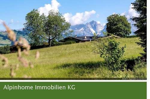 Sonniges Grundstück in Panoramalage mit Bestand in Nähe des Schwarzsees - EXCLUSIV durch Alpinhome Immobilien!
