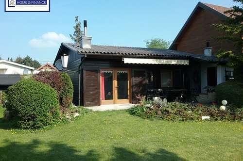 Holzknusperhaus mit vielen Extras am Steinbrunner See!