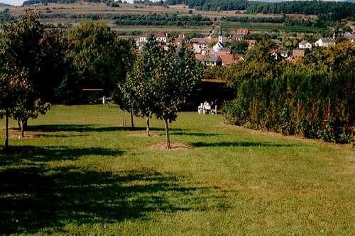 Garten Freizeit-Grundstück nahe Krems / Wachau in idyllisch-ruhiger Höhenlage mit Ausblick