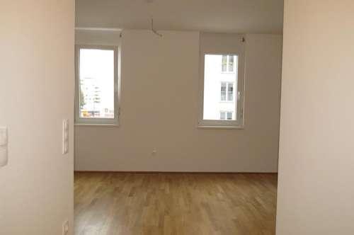22., Anlage: Neubau/Erstbezug: 2 Zimmer-Dachgeschoßwohnung mit Balkon