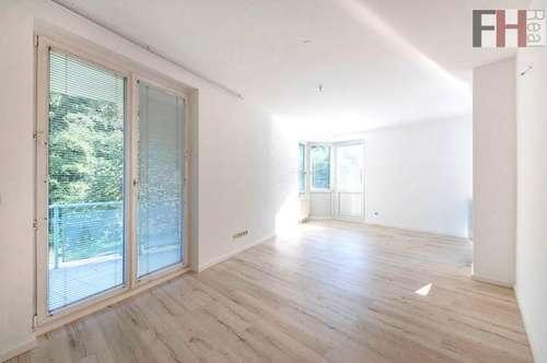 Sonniges 3 Zimmer Gartenapartment mit Balkon und Garagenplatz