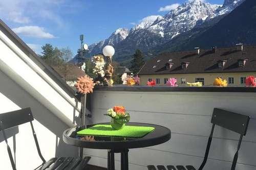 Kleine Terrasse - schöne Aussicht
