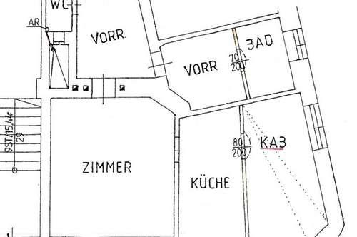 Anlegerwohnung Altbau, sehr gute Lage, 59 m², unbefristet vermietet