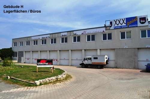 10m2 - 1500m2! Eisenstadt - ca. 10min! Industriegelände - Lager, Werkstatt, Büro, Geschäft! ab 25€ Netto/Monat! GEWERBEPARK DONNERSKIRCHEN!